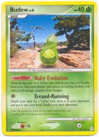 Budew 43/130 Uncommon Diamond & Pearl Pokemon Card