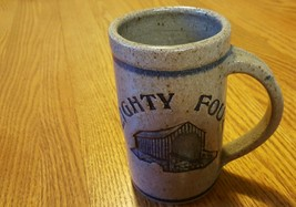 Pottery mug, stamped, excellent condition. - $10.39