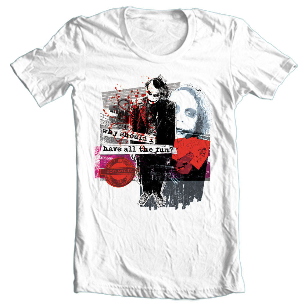 The joker bat man t shirt bm1694