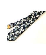 Blue Floral Necktie, Blue Necktie, Man Necktie,... - £19.85 GBP