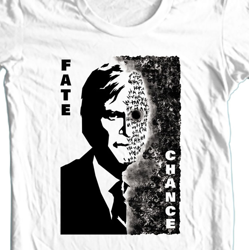 2 face batman dark knight rises white t shirt