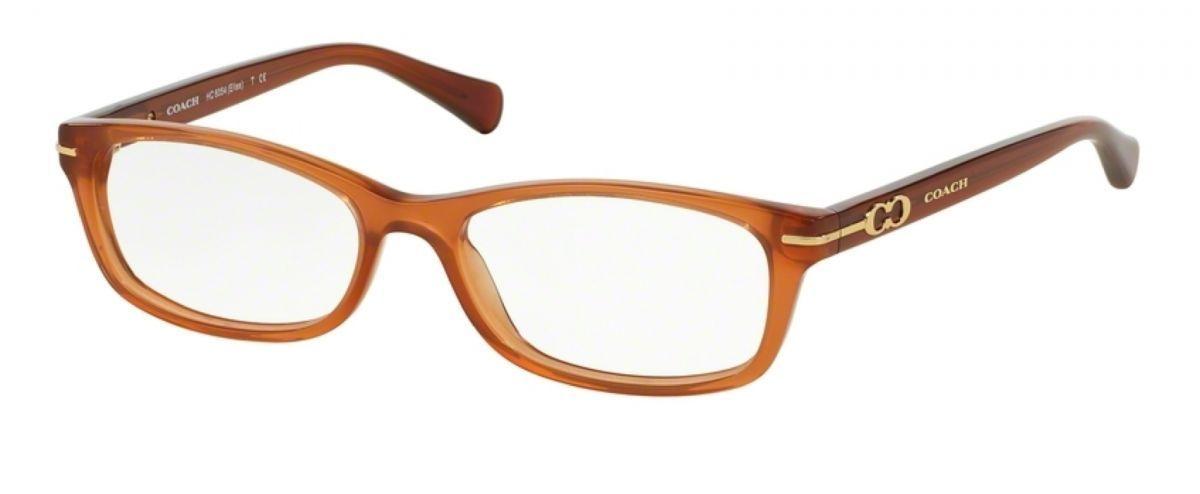 Coach Eyeglass Frames Bettie : NEW COACH HC 6056F BETTY 5251 MILKY SADDLE EYEGLASSES ...