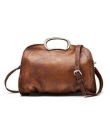 Sale, Vegetable Tanned Leather Satchel Bag, Handmade Women Bag, Designer... - $165.00