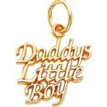 Daddy's Little Boy Charm - $19.95+