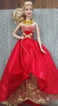 Holiday Barbie Doll 2014 Collector Barbie Doll By Mattel Blonde Barbie - $15.99