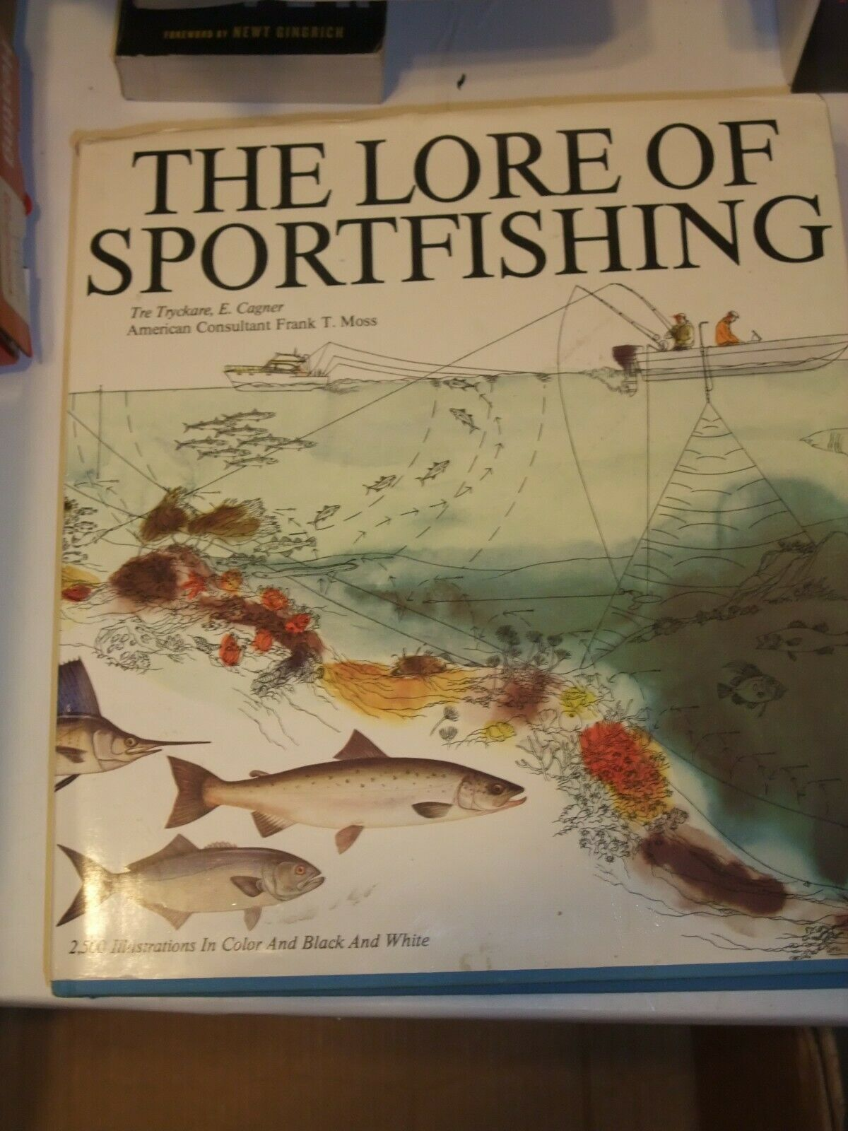 Primary image for Lore of Sportfishing F. Moss 2500 Illustrations Large Fresh Salt Water HB 1988
