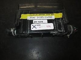 13 14 15 Sentra Fuse Box Relay #24382 Ew70 B *See Item* - $39.60