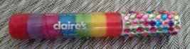 Claire's Rainbow Swirl & Jeweled Lipgloss New - $9.99