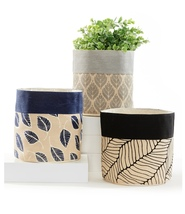 Canvas Baskets Store n More Storage/Planter Waterproof Versatile  - $45.99