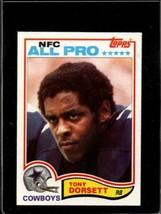 1982 Topps #311 Tony Dorsett Vgex Cowboys Centered *A27376 - $2.97