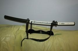 The Walking Dead Katana Zombie Killer Michonne Japanese Sword Ten Khu w/ stand - $193.04