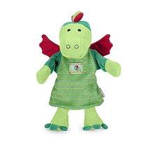Sterntaler Hand Puppet Dragon, 31 x 27 x 10 cm, Green