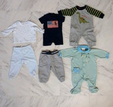 Mixed Lot of 5 Baby Boys' Ralph Lauren, Gymboree, Carter's Clothes Size ... - $16.14