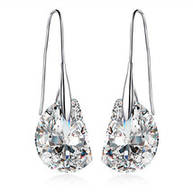Contemporary & Chic 18k White Gold Plated Clear Crystal - $18.00