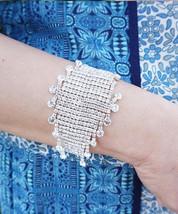 Sparkling Crystal Rhinestone Wrap Glamorous Wedding Jewelry Bracelet - $14.95