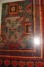 Fine Oriental And European Carpets Sothebys Catalog And Prices 1991 - $10.99