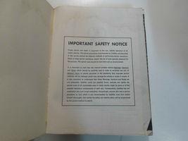 1976 Cadillac SEVILLE Service Shop Repair Manual 2 VOL SET 76 WATER DAMAGED image 5