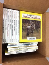 Lot of 28 Getting to Know...Nature's Children Hardcover Set 1996 Grolier... - $35.50