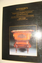 Sothebys Important English Furniture And Decorations Auction Photos Pric... - $18.99