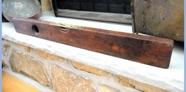 "antique 29"" STANLEY RULE & LEVEL CO. new britain ct TOOL rosewood/walnut... - $87.07"