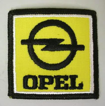 OPEL square logo vintage car jacket or shirt patch - $10.00
