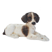 Pointer Puppy Dog Animal Statue Figurine Statua... - $50.90