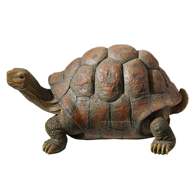 Garden pond turtle tortoise statue statuary lawn yard for Garden pond ornaments