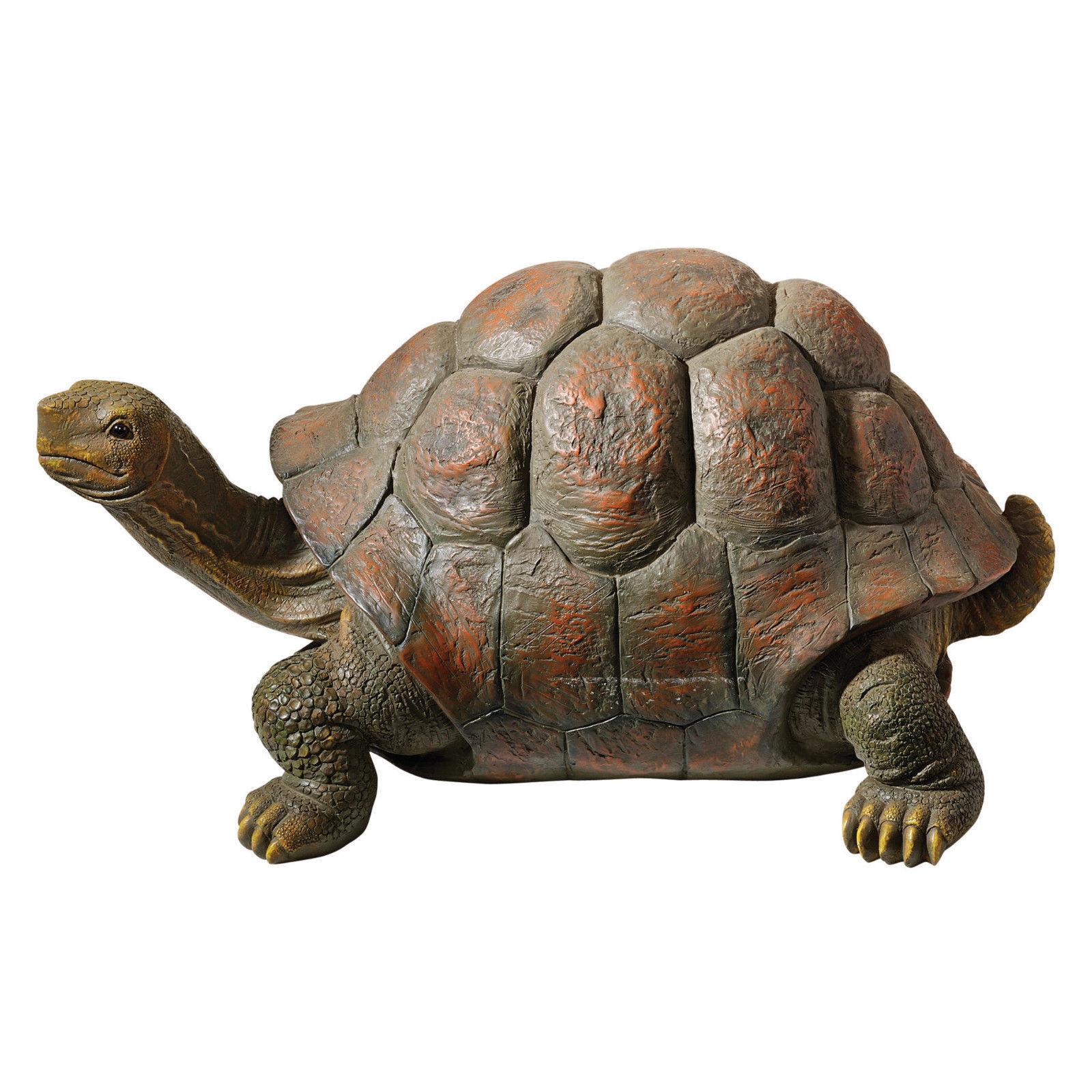 Garden pond turtle tortoise statue statuary lawn yard for Garden pond ornaments uk