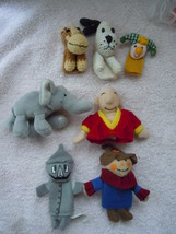 Assorted Finger Puppets Lot of 7 - $6.99