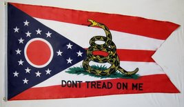 Ohio Gadsden Flag 3' X 5' Indoor Outdoor Banner - $9.95