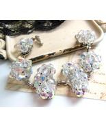 OOAK Repurposed Vintage Genuine Crystal Bead Cl... - $34.64