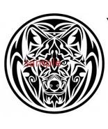 Tribal Dog Circle Cross Stitch Chart - $8.00