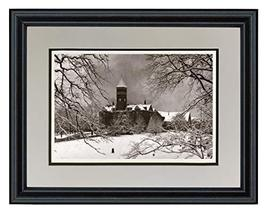 "Schooner Bay Co. 11"" x 14"" Clemson University - Tillman Hall Snow Scene ... - $58.56"
