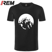 Summer T-Shirt Men Short Sleeve Evolution of Mountain Biking t-shirts Printing S - $28.01