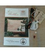 FULL LINEN KIT (28ct linen) for Snow Much Love Cottage Garden Samplings   - $23.50