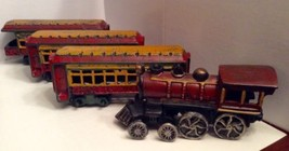 Cast Iron Train Set 44 St Louis Ohio River RR L... - $94.99
