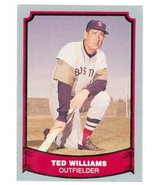 Ted Williams baseball card 1989 Pacific baseball legends #50 (Boston Red... - $4.00