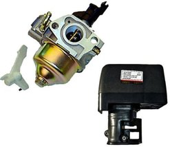 Honda GX200 6.5 HP Carburetor & Air Box Assembly Honda 6.5hp Gasoline En... - $29.05