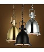 "Industrial Loft Benson Pendant Ceiling Lamp Hanging E27 Light 11.8"" Chan... - $136.12+"