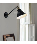 20TH C. Library Single Sconce Restoration Swing Arm Wall Lamp Indoors Light - $46.38