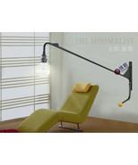 Swing-Jib Lamp Manner of Jean Prouve Wall Sconce Atelier Lighting Fixtur... - $173.52+