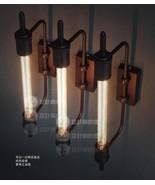 RH Wall Lamp of Vintage Restoration Steampunk Light Aged Steel 20TH C. S... - $77.14