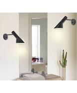 Modern Style Louis Poulsen Arne Jacobsen AJ Wall lamp Black & White UP /... - $65.77