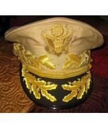 US GENERAL Douglas MacArthur's AUTHENTIC UNIFORM KHAKI HAT NEW ALL SIZES... - $127.50