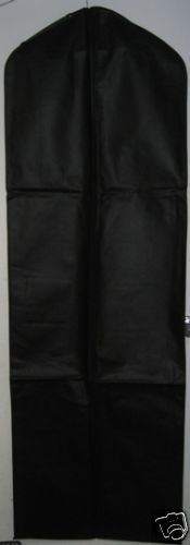 Primary image for Black Breathable Cloth Wedding Gown Dress Garment Bag