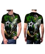 Dallas Stars Hockey T-shirt Fullprint For Men - $24.99