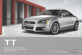 2012 Audi TT TTS RS sales brochure catalog US 12 2.0T 2.5T - $12.00
