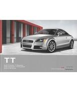 2012 Audi TT TTS RS sales brochure catalog US 12 2.0T 2.5T - $12.00