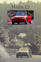 1990 Mazda 323 sales brochure catalog US 90 SE - $6.00