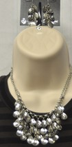 Crystal Falls Premier Designs Necklace & Earrings - $35.00